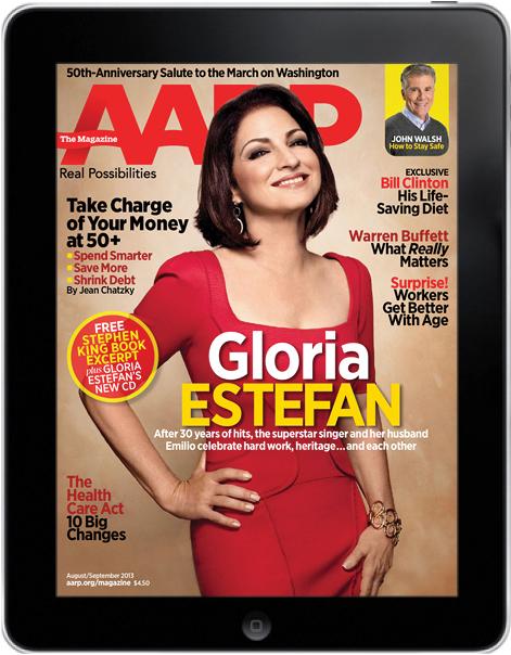 AARP Magazine for iPad, August-September 2013