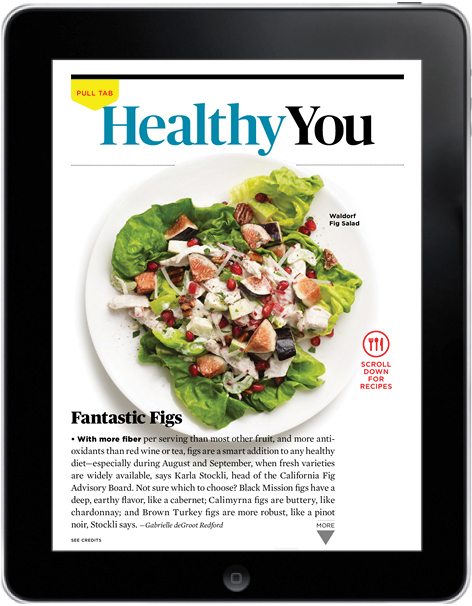 AARP Magazine, Healthy You opening page, August-September 2013