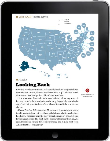 AARP Bulletin, State News/Alaska, July-August 2013