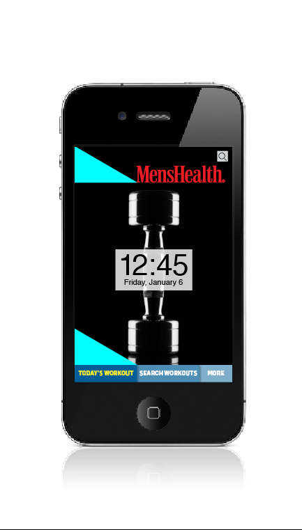 Men's Health Exercise of the Day App for iPhone