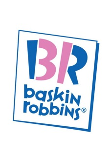 "Baskin Robbins: See the "" 31"" embedded in the "" BR""? Thirty one-derful flavors!"