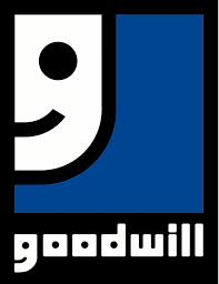 "Goodwill Industries: The smiley half face is also a 'g""."