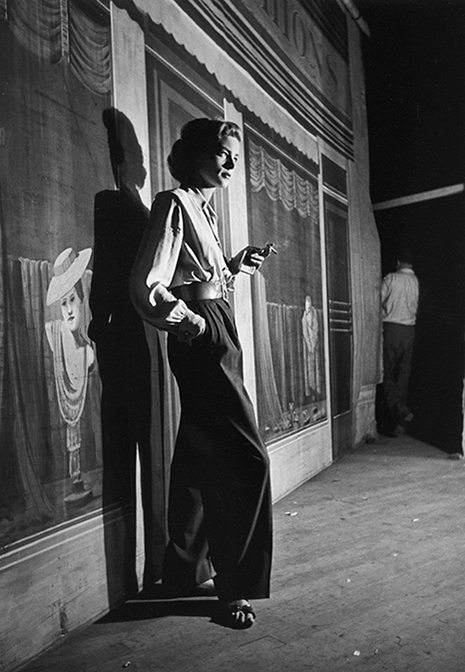 """LAUREN BACALL, included in the National Portrait Gallery's """"American Cool"""" exhibition.  Artist: Alfred Eisenstaedt 1949 (printed 2013) Pigmented ink jet print Sheet: 48.3 × 33cm (19 × 13"""") Image: 40.3 × 27.9cm (15 7/8 × 11"""")"""