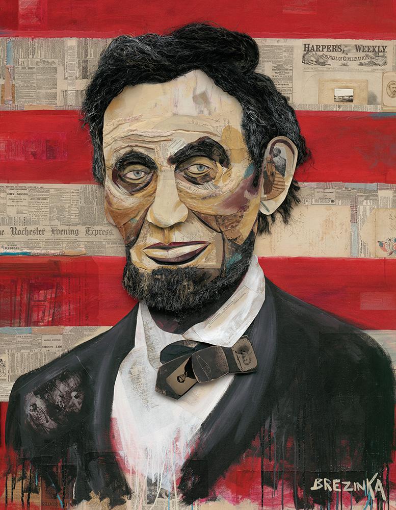 Abraham Lincoln 1809 1865 Bojoda Design