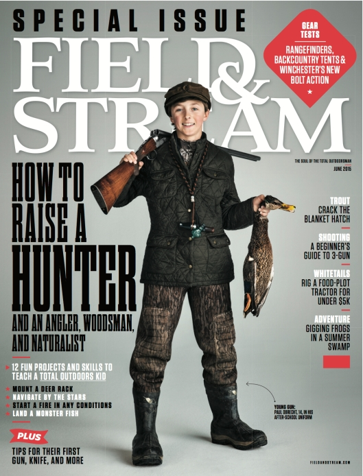 ​Field & Stream Issue: June Circ: 1.25 million Editor: Anthony Licata Design Director: Sean Johnston Publishing Company: Bonnier