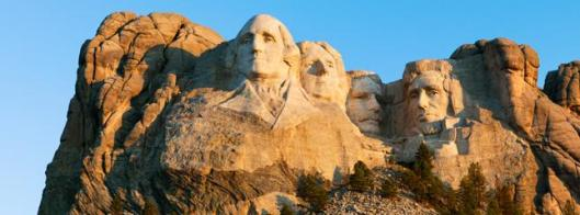 Mount Rushmore National Memorial in South Dakota. (Photo from Mount Rushmore National Memorial)