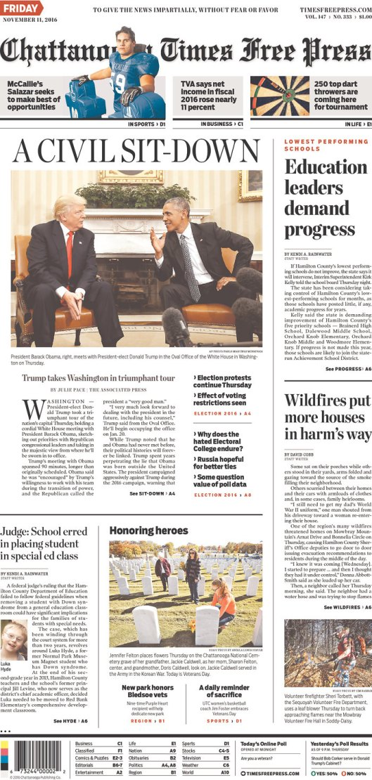 Chattanooga Times Free Press, Nov. 11, 2016