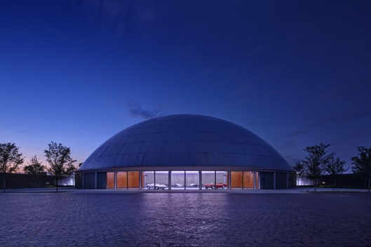 The Design Dome at the General Motors Technical Center in Warren, Michigan opened in 1955.