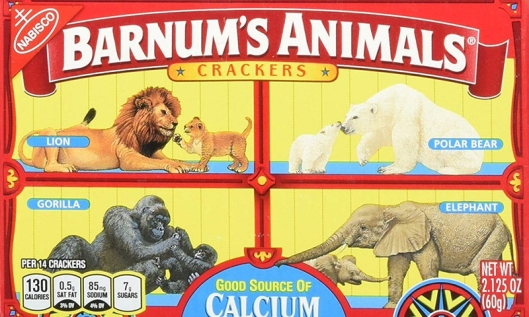 Animal Crackers Caged source Amazon